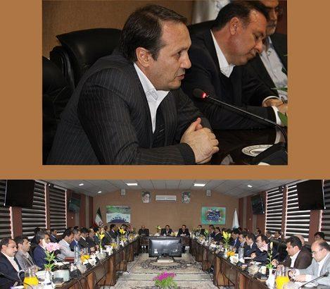 تبیین سیاست ها وبرنامه های شرکت آب منطقه ای آذربایجان شرقی دردیدار مدیرعامل شرکت بامدیران ستادی وشهرستانی