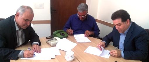عقد تفاهمنامه همکاری مشترک بین مدیریت شیلات و امور آبزیان استان، پژوهشگاه بیوتکنولوژی کشاورزی و بخش خصوصی