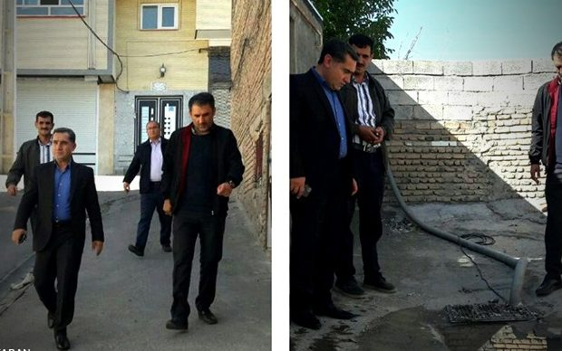 بازدید شهردار منطقه نه تبریز از خدمات ارائه شده در فتح آباد