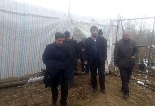 رئیس سازمان جهادکشاورزی استان آذربایجان شرقی به مشکلات ۱۶ نفر رسیدگی کرد