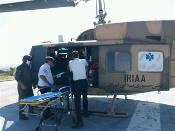 سانحه رانندگی محور کلیبر –اهر بالگرد اورژانس را به پرواز در آورد
