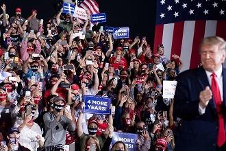 ترامپ: اگر به بایدن ببازم از آمریکا می روم