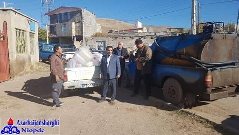 ادامه سوخترسانی به مناطق زلزله زده شهرستان میانه