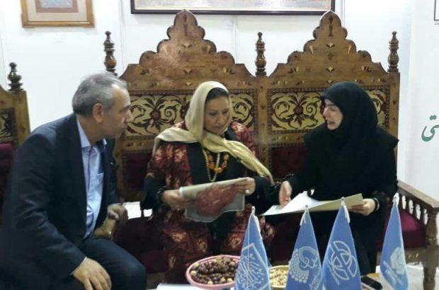 دیدار معاون اقتصادی استاندار آذربایجان شرقی با رئیس آسیا و اقیانوسیه شورای جهانی صنایع دستی