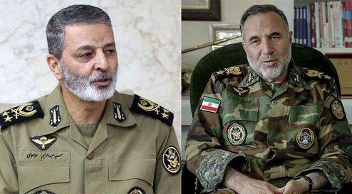 حکم جدید فرمانده کل ارتش به امیر سرتیپ حیدری
