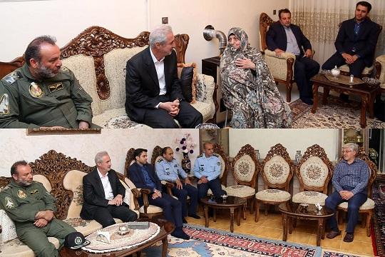در اولین روز از هفته دفاع مقدس؛ استاندار آذربایجان شرقی با دو خانواده ایثارگر در تبریز دیدار کرد