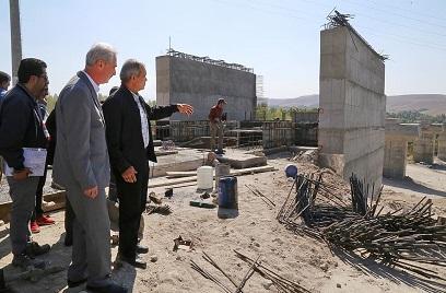 بازدیداستاندار آذربایجان شرقی از دو پروژه مهم حوزه راهسازی
