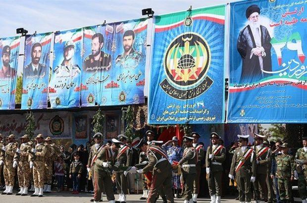 مراسم رژه نیروهای مسلح در آذربایجان شرقی برگزارشد