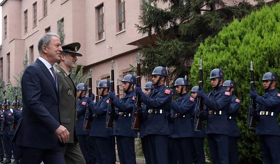 دیدار وزیران دفاع ایران و ترکیه در آنکارا
