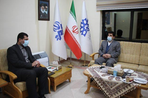 دیدار رئیس سازمان جهاد کشاورزی آذربایجان شرقی با مدیرکل صدا و سیمای مرکز استان