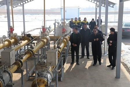 ایستگاه های گازرسانی شهرستان بناب، مورد بازدید فرماندار قرار گرفت