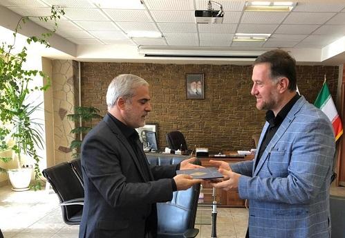 برگزاری مراسم تودیع و معارفه شهردار منطقه ۸ تبریز