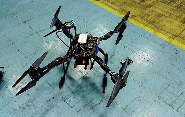 ساخت ربات عمود پرواز آتش نشان در دانشگاه تبریز
