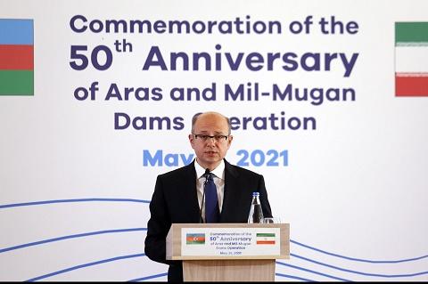وزیر انرژی جمهوری آذربایجان: امنیت مرزهای ایران و آذربایجان، فرصت توسعه و همکاری را فراهم کرده است