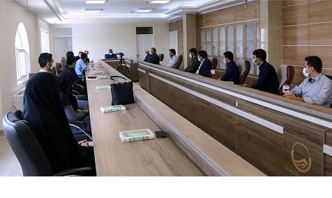 مراسم معرفی تعدادی از کارمندان جدید الاستخدام شرکت آب و فاضلاب استان آذربایجان شرقی برگزار شد