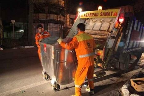 احتمال وقفه ۲۴ ساعته در جمع آوری زباله های سطح شهر وجود دارد