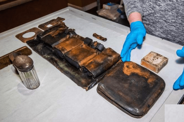 اشیاء کمیاب بازمانده از تایتانیک برای اولین بار در لاس وگاس به نمایش در می آید