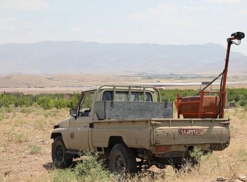 مبارزه با آفت ملخ در سطح ۱۲۰۰ هکتار