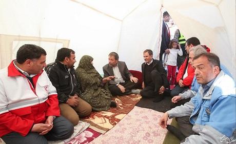 دولت با تمام توان در کنار مردم زلزلهزده است/ خللی در رسیدگی به مشکلات مردم ایجاد نخواهد شد
