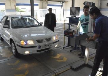شهروندان معاینه فنی خودرو را به روزهای پایانی سال موکول نکنند