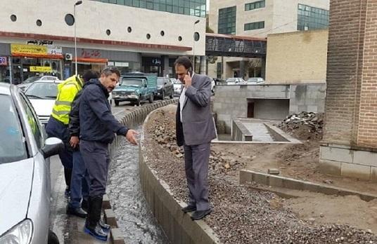 بازدید شهردار تبریز از اکیپ های آماده باش خدمات شهری