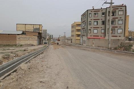 اتمام عملیات جدول گذاری و زیرسازی انتهای خیابان ابوذر آخماقیه