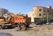شهردار منطقه ۱ تبریز خبر داد:عملیات اصلاح هندسی تقاطع عارف آغاز شد