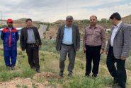 کاشت بیش از ۲۰۰۰ اصله درخت در مرکز دفن مهندسی پسماندهای شهری تبریز