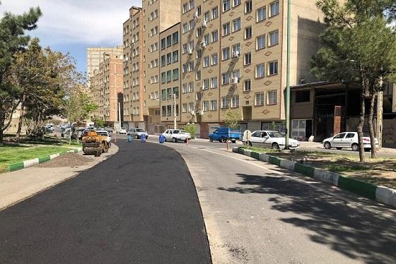 سرپرست شهرداری منطقه ۷ تبریز عنوان کرد:توزیع بیش از ۵۱۰۰ تن آسفالت طی دو ماه نخست سالجاری در سطح منطقه۷
