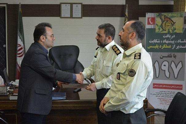 نیروی انتظامی زمینه ارتقای خدمات شایسته را برای شهروندان فراهم میکند