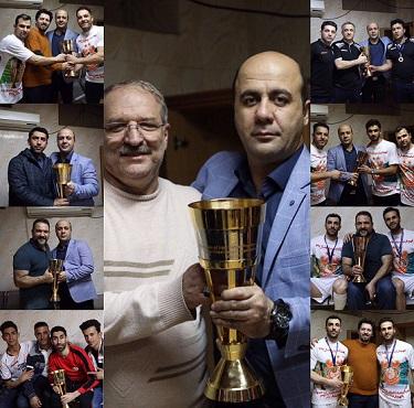 پیام تبریک مدیر عامل باشگاه مس کرمان به مناسبت قهرمانی تیم فوتسال مس سونگون ورزقان