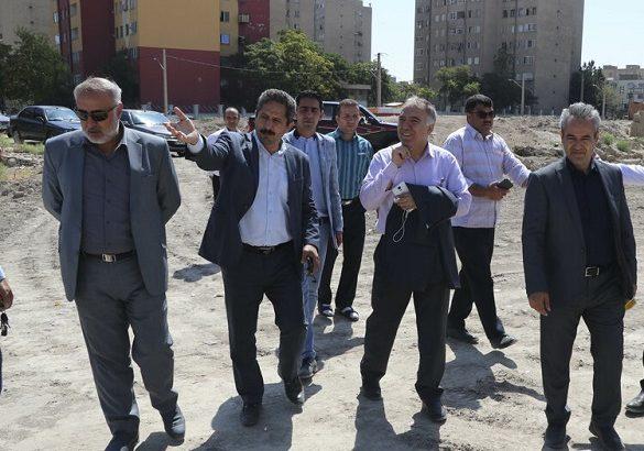 رفع فقر فضای سبز تبریز از اولویت های شهرداری است
