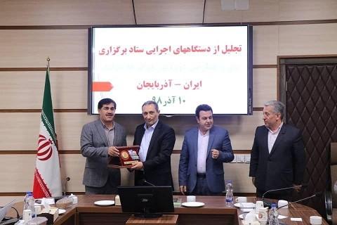 دستاندرکاران تور دوچرخهسواری ایران- آذربایجان مورد تجلیل قرار گرفتند