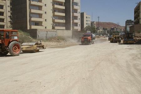 عملیات آسفالتریزی خیابان ۲۴ متری فرشته جنوبی طی روزهای آینده آغاز میشود