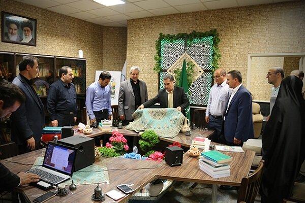 برگزاری آیین رونمایی از رادیو خاوران در شهرداری منطقه ۹ تبریز