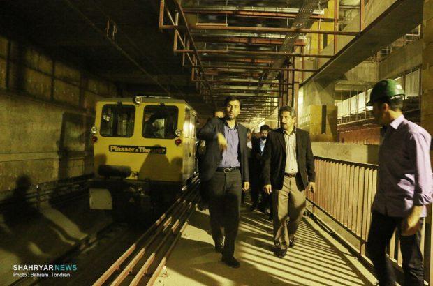 آغاز مسافرگیری از ایستگاه لاله مترو تا پایان سال جاری