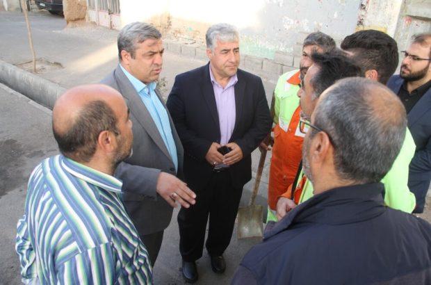 با دستور شهردار تبریز صورت می گیرد؛ آغاز بازدیدهای دوره ای و رسیدگی به مشکلات پاکبانان