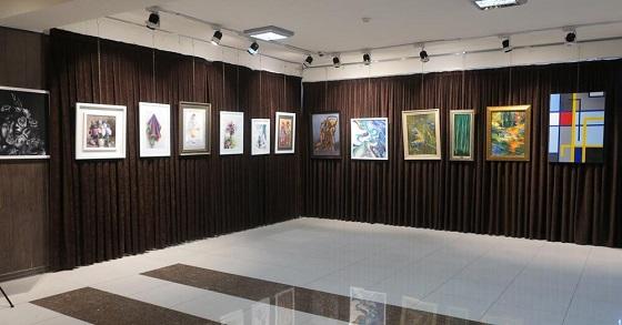 نمایشگاه گروهی همدلان فردای هنر آذربایجان برپا شد