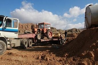 تجهیز کارگاه اجرای پروژه تعریض جاده زبالهگاه مرکزی تبریز تجهیز کارگاه اجرای پروژه