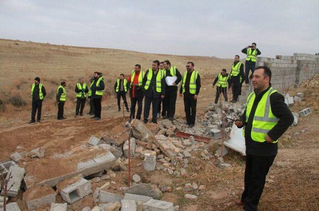 شهردار منطقه۶ تبریز خبر داد: تخریب ساخت و سازهای غیر مجاز در سطح حوزه منطقه۶