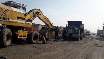 آغاز عملیات احداث کانال سنگی در کوی رود با هزینه بالغ بر ۱۱ میلیارد ریال توسط شهرداری منطقه ۶ تبریز