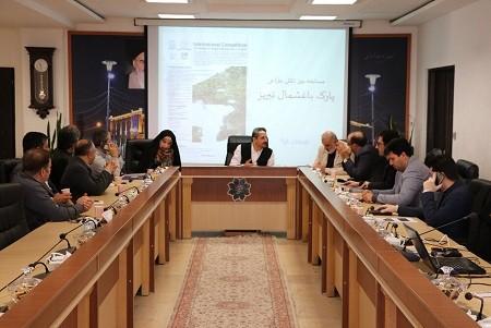 طرح نهایی باغ باغشمال از میان ۵۰ طرح بین المللی انتخاب شد/ نقش موثر باغشمال در کاهش آلودگی هوای تبریز