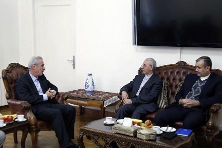 دیدارسفیر جدید جمهوری اسلامی ایران در ارمنستان بااستاندار آذربایجان شرقی