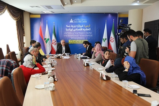 امضای دو تفاهم نامه همکاری بین ارس و ارمنستان