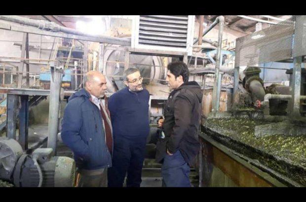 بازدید رئیس هیئت مدیره شرکت مس از طرح توسعه ای کارخانه آهک اهر/بهره برداری از کارخانه آهک اهر تا پایان سال ۹۸