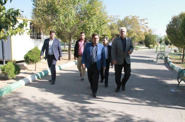 عملیاتی نمودن طرح افزایش سرانه فضای سبز در شهرداری منطقه۶ تبریز