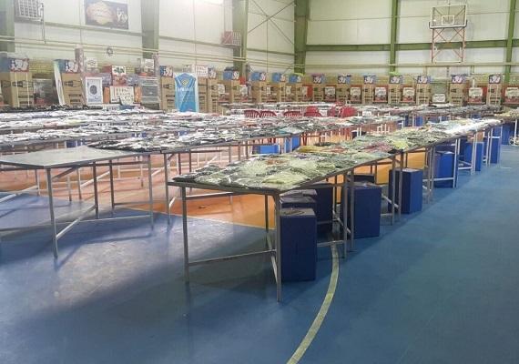 ۱۶ هزار بسته اقلام شب عید و ۴۶ سری جهیزیه به نیازمندان اهدا کرد