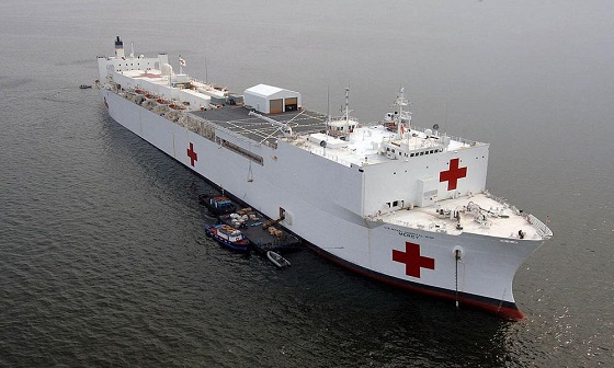 USNS مرسی؛ بیمارستان دریایی!