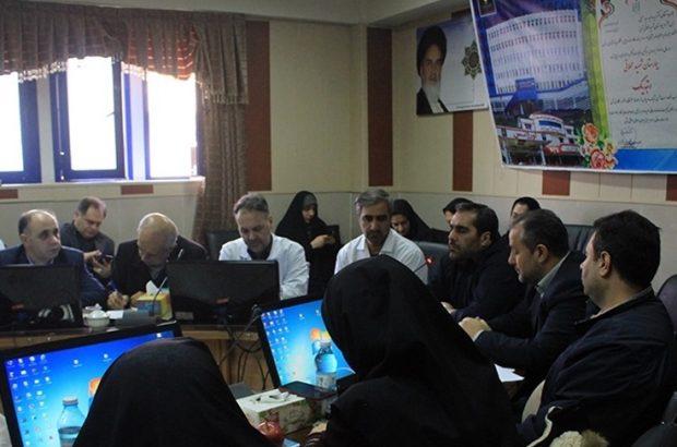 کسب رتبه دوم بیمارستان شهید محلاتی در کشوردر بین بیمارستان های وابسته به نیرو های مسلح