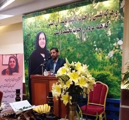 تقدیر از خانواده یک اهدا کننده عضو در تبریز